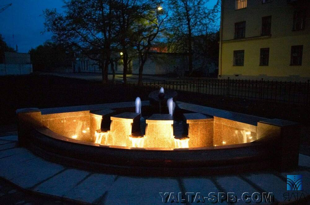Кронштадт фонтан фотография надежда