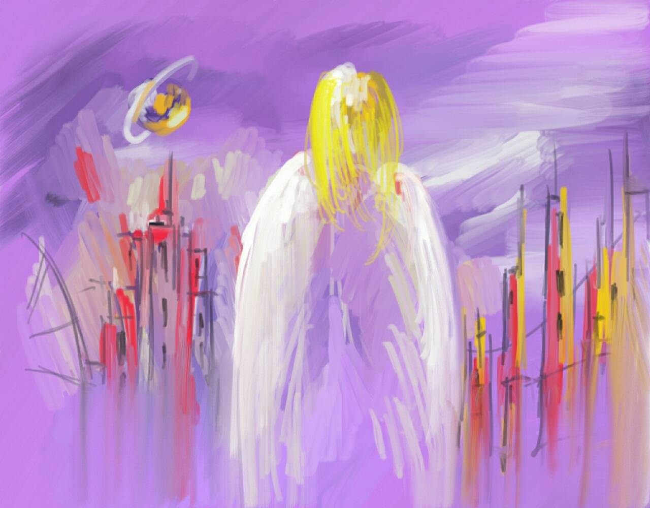 Ангел фотографія Олег
