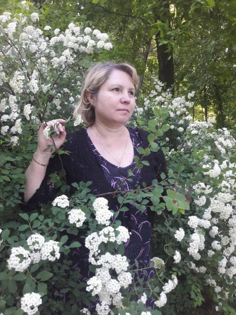 Белый снег в мае photo Анжелика