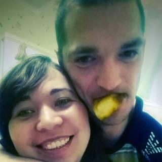 Фотография : с мужем
