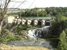 Плотина Стеблевской ГЭС - Стеблёв фотография петро