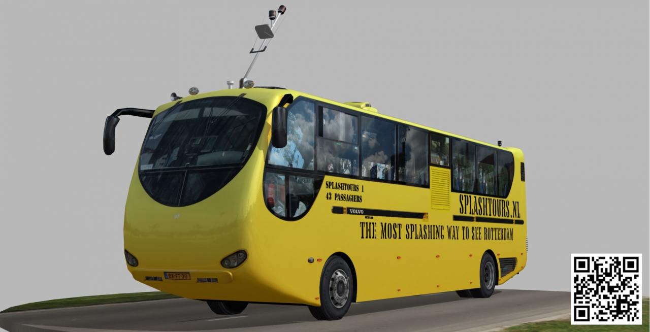 www.cgtrader.com/3d-models/vehicle/bus/amphibian-splashtours-bus-2Amphibian Splashtours Bus low-poly 3d modelVolvo Ferry Rotterdam Amfibus Maas River splash tour tours yellow ,VR ready https.. photo Alexander