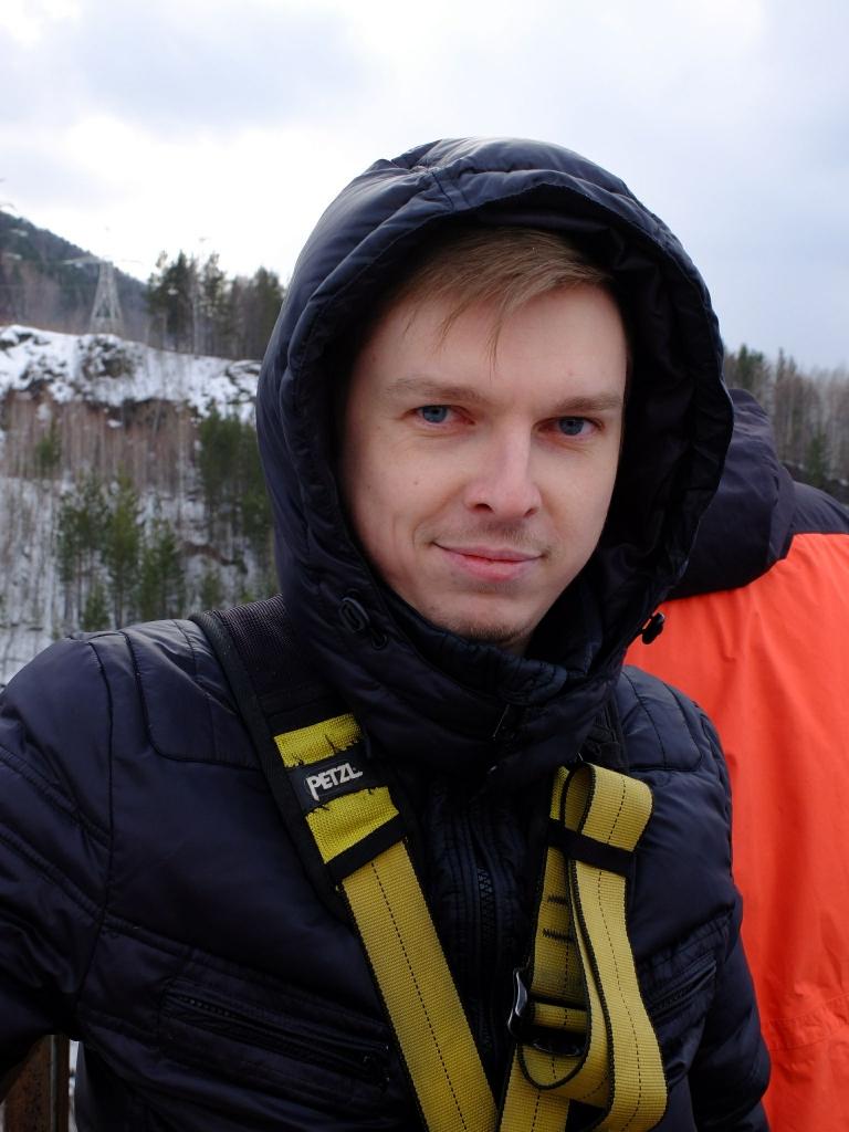 тарзанка, Андрей, высота, прыжок, лес, природа фотография Жора