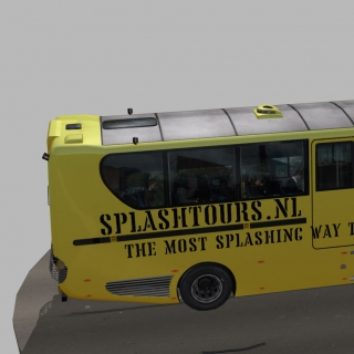 Фотография Alexander: www.cgtrader.com/3d-models/vehicle/bus/amphibian-splashtours-bus-2Amphibian Splashtours Bus low-poly 3d modelVolvo Ferry Rotterdam Amfibus Maas River splash tour tours yellow ,VR ready https..