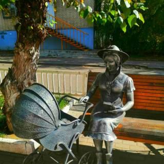 Фотография Фома: Дама с коляской