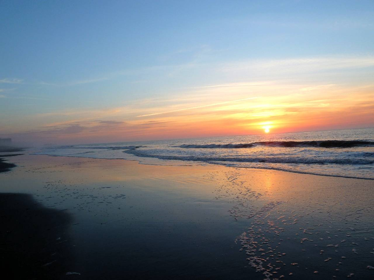 восход солнца над Океаном фотография Sergei