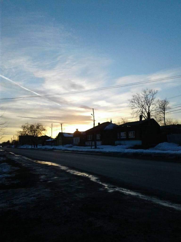 красивый закат фотография Иван