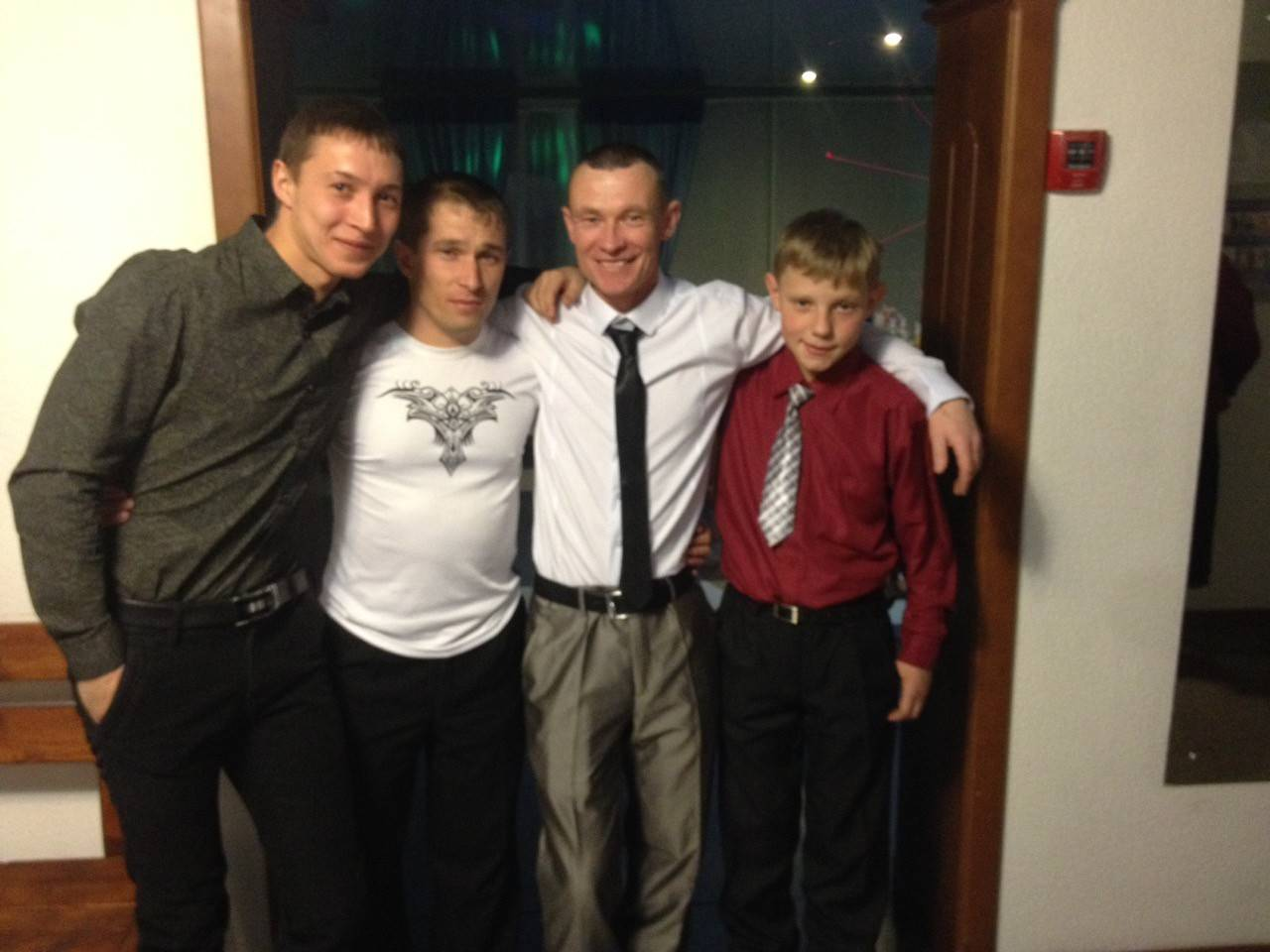 На свадьбе photo Сергей