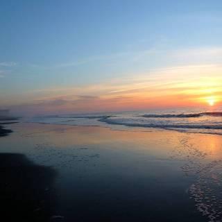 Фотография Sergei: восход солнца над Океаном