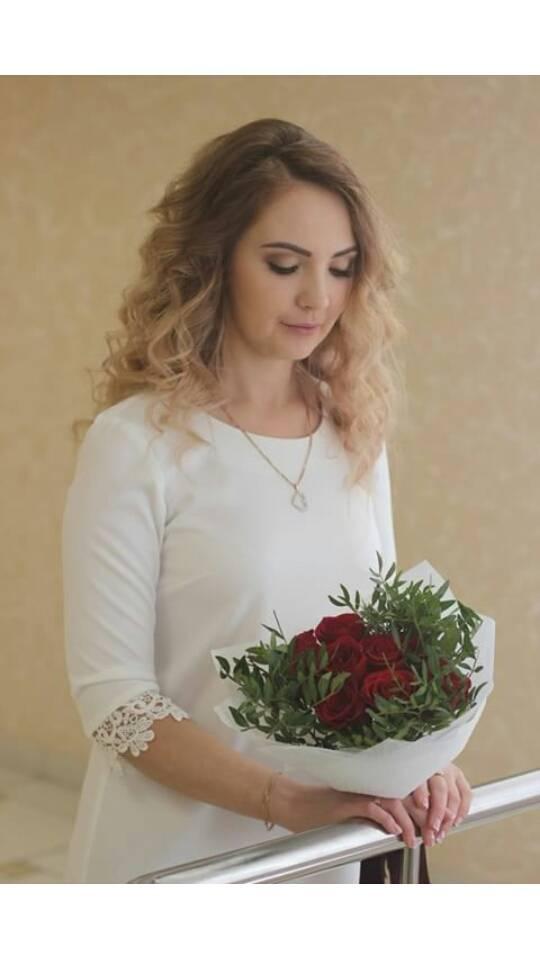 нежный свадебный образ photo Марина