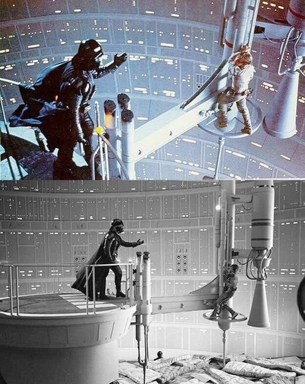 Звёздные Войны фотографія Before and after