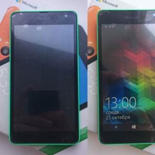 Фотография Мастер: Фотографии Microsoft Lumia 535 после замены тачскрина. Пленка от нового тачскрина пришла в негодность, на ней образовались пузырьки. Нужно ее снять и пользоваться смартфоном в свое удобство!) Были п..