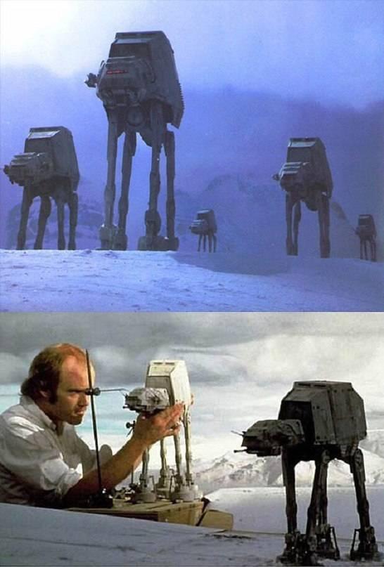 Звёздные войны foto Before and after