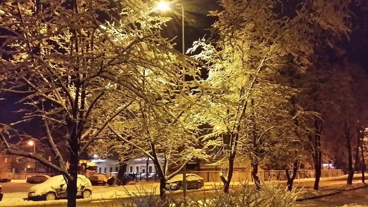 Это зимний вечер. фотография vitalij