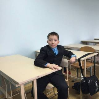 Photo Мишаня: Я в школе