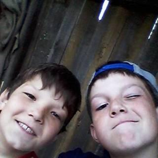 Фотография : С братом