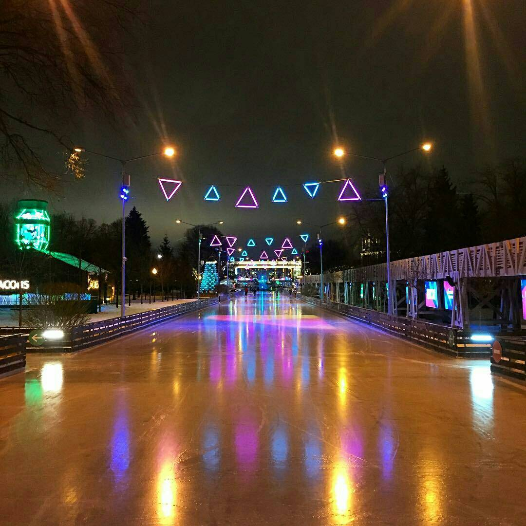 АртКаток в Парке Горького фотография Luba