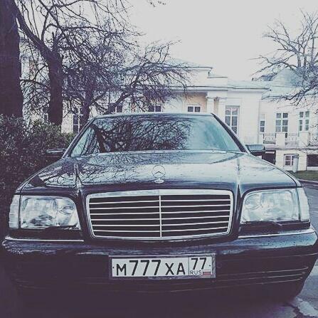 Mercedes-Benz W140 photo Малик