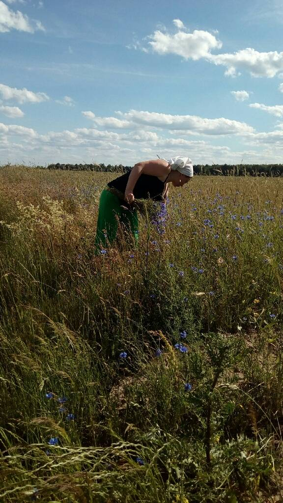 Сучасна селяночка фотография Наталія