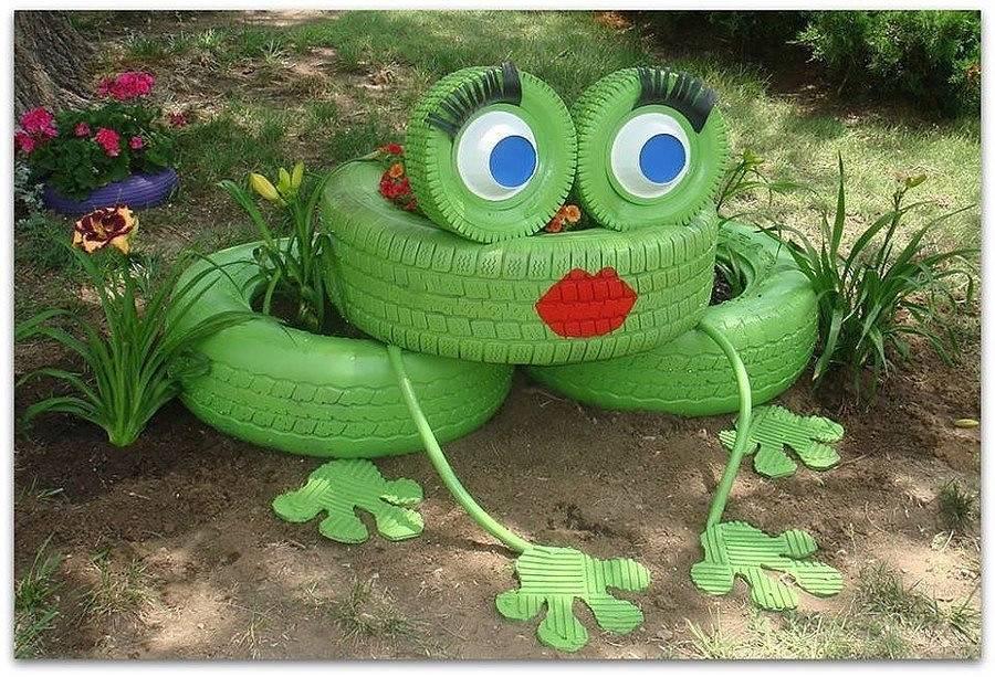 Лягушка во дворе)) photo светлана
