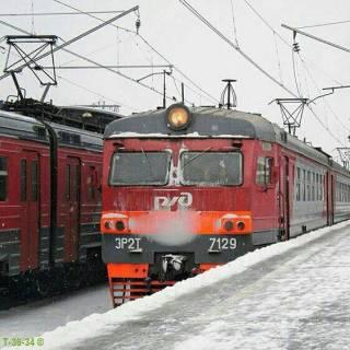 Фотография Luba : Электричка на Савеловском вокзале