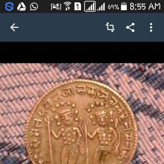 Фотография vikramaditya mitra: this is is a coin about 500 years