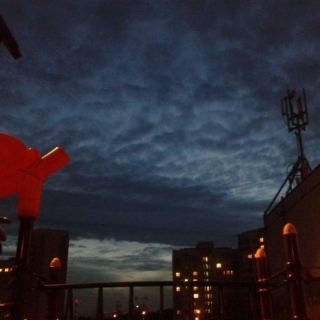 Фотография Anton: Our yard at evening