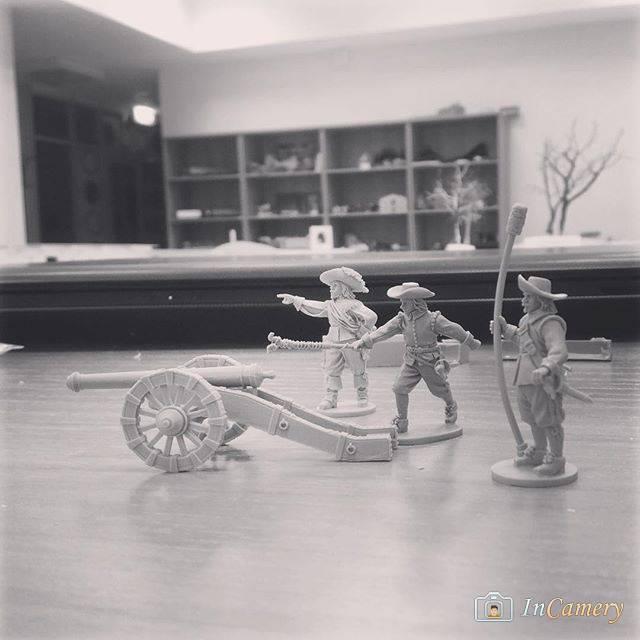 Мушкетеры атакуют, фигурки в масштабе 1/78 photo Vadim