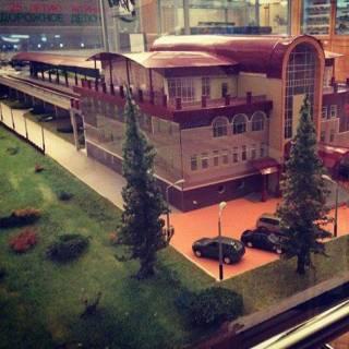 Фотография Vadim: #макет #джд #вокзал Макет здания Свердловской Детской железной дороги в г.Екатеринбург