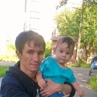 Фотография Геннадий: Мы с сынулькой на прогулке! ;-)