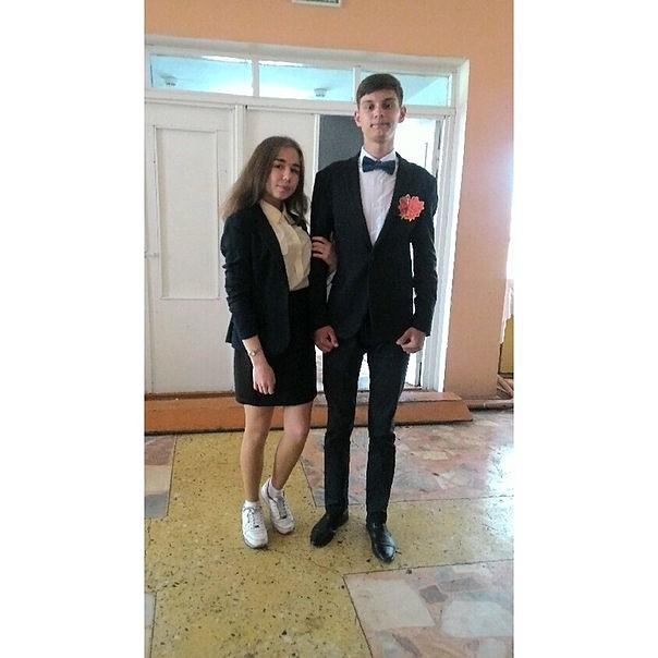С одноклассницей photo Андрей