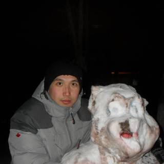 Фотография Данияр: с девушкой холодной