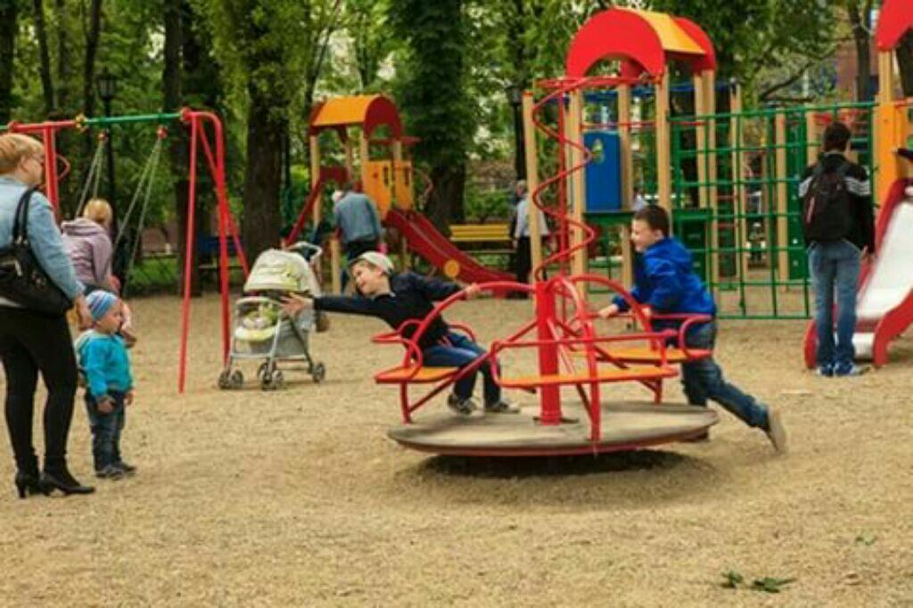 детские площадки фотография Николай